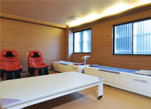 写真:リラクゼーションルーム(静養室)